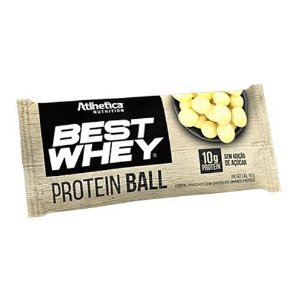 Best Whey Protein Ball 50g Chocolate Branco - Atlhetica Nutrition