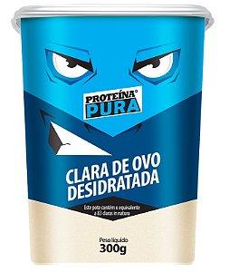 Clara de ovo Desidratada Albumina 300g Proteína Pura (ALBUMINA)