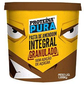 Pasta de Amendoim Integral Crocante 1,050 kg - Proteína Pura