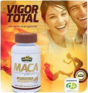 Maca Peruana 600 mg - 60 Caps