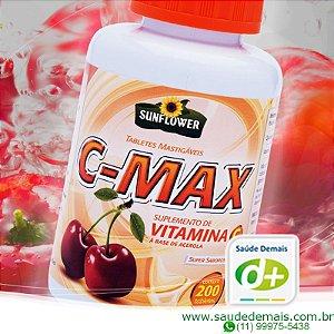 C Max: Vit. C. 1 g - 200 Comp