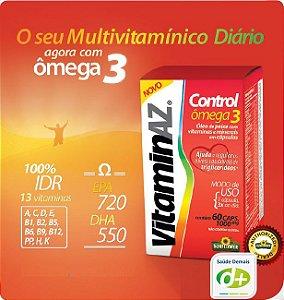 VitaminAZ Control: Ômega 3 +Vit. 1,6 g - 60 Caps
