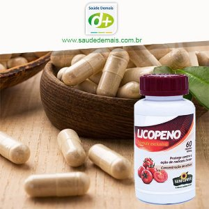 Licopeno 500 mg - 60 Caps