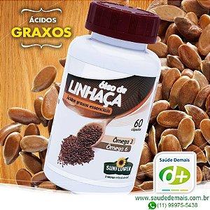 Óleo de Linhaça 700 mg - 60 Caps