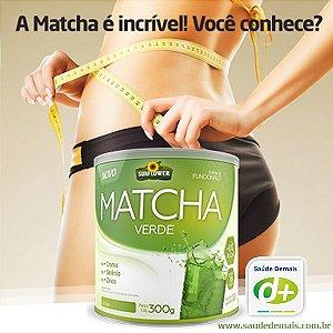 Matcha Verde  Sabor Limão - 300g Cromo, Selenio e Zinco