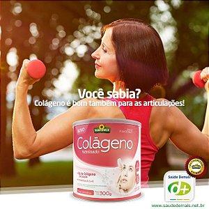 Colágeno Sabor Frutas Vermelhas  300g  - Vitaminas A, C, E e o Zinco