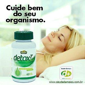 Detox: Linhaça, Vit.B7, Selênio e Clorela 1,4 g - 60 Caps