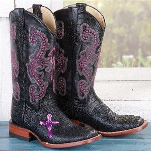 849e423cee368 bota texana country masculina feminina cano normal médio bico quadrado (  Com outras opções