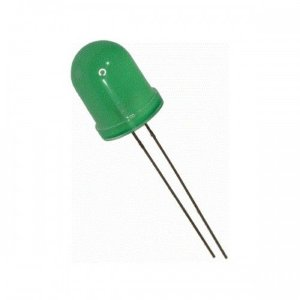 Led Difuso 5mm Verde