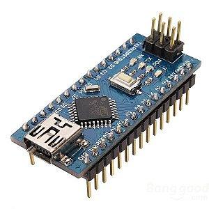Nano V3.0 + Cabo Usb para Arduino