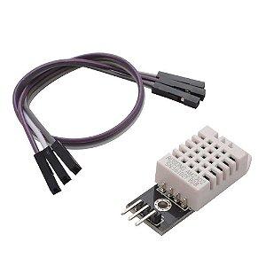 Módulo Sensor Dht22 Sensor De Temperatura E Umidade