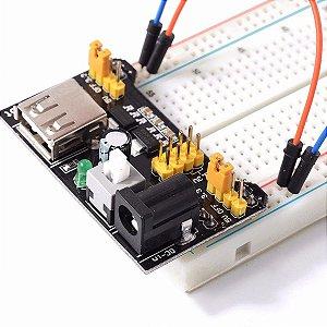 Fonte Ajustável Para Protoboard