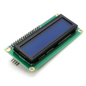 Display LCD 16×2 c/ Módulo I2C Integrado Backlight Azul