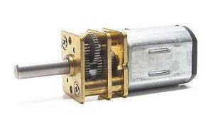 Mini Motor Redutor DC 6V N20 100:1 - 150RPM