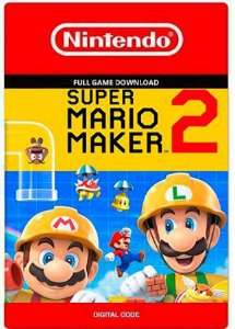 Super Mario Maker 2 - Nintendo Switch Código Eshop