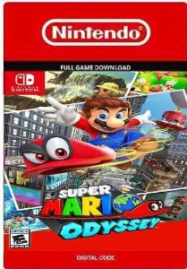 SUPER MARIO ODYSSEY NINTENDO SWITCH DOWNLOAD CÓDIGO ESHOP