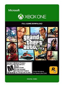 Grand Theft Auto V - Gta5 Xbox One Mídia Digital