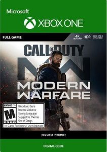 Call of Duty: Modern Warfare Xbox One Mídia Digital