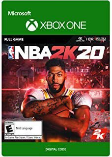 NBA 2K 20 Xbox One Mídia Digital