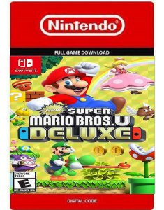 Super Mario Bros.U Deluxe Nintendo Switch Código Digital