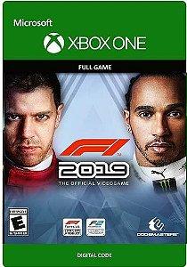 F1 2019 Xbox One Midia Digital