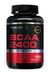 BCAA 2400mg 120 Tabletes - Probiótica