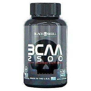 BCAA 2500 120 Tabletes - Black Skull