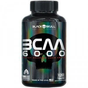 BCAA 6000 120 Tabletes - Black Skull