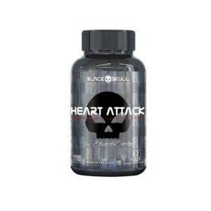 Heart Attack 60 Cápsulas - Black Skull
