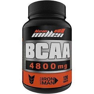 BCAA 4800mg 120 Tabletes - New Millen