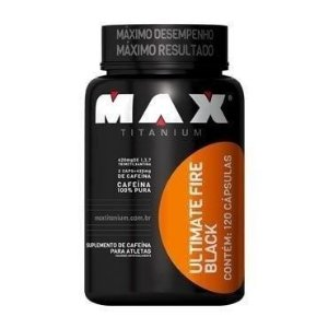 Ultimate Fire Black 120 Cápsulas - Max Titanium