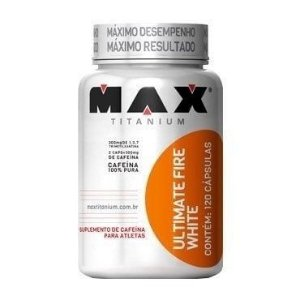 Ultimate Fire White 120 Cápsulas - Max Titanium