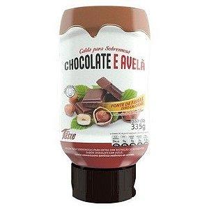 Calda Chocolate e Avelã Zero Calorias 335g - MRS Taste