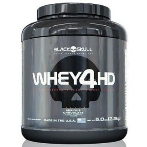 Whey 4HD 2,267kg - Black Skull