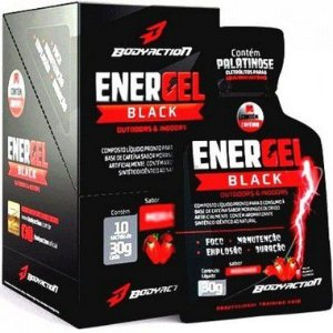 Energel Black Sachê 30g - BodyAction