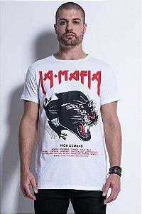 Camiseta Lamafia Tattoo Wear Black Tiger