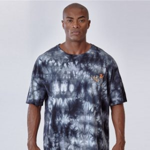 Camiseta Lamafia Graphics Lavanderia Chumbo