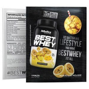 Best Whey Sachê - Atlhetica Nutrition