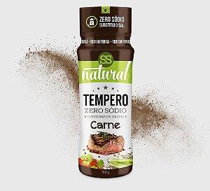 Tempero Zero Sodio Sabor Carne 50g - SS natural