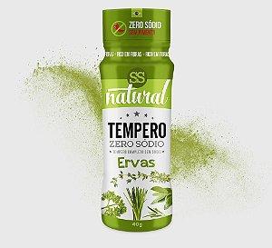 Tempero Zero Sodio Sabor Ervas 40g - SS Natural