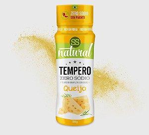 Tempero Zero Sodio Sabor Queijo 50g - SS Natural