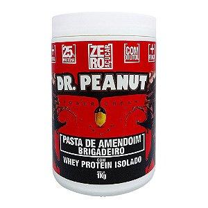 Pasta de Amendoim Brigadeiro com Whey 1kg - Dr. Peanut