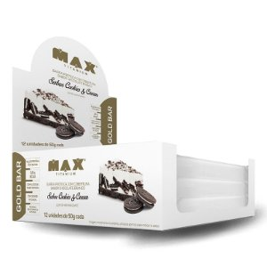 Caixa Gold Bar 50g 12 Unidades - Max Titanium