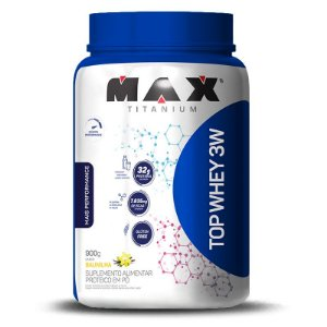 Top Whey 3W Mais Performance 900g Max Titanium