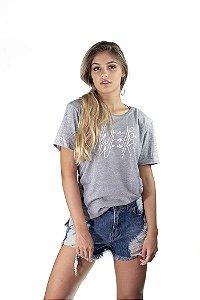Camiseta Oversized We Are Raise Cinza