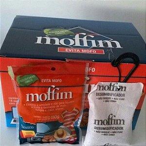 Anti Mofo Moffim - Caixa com 18 unidades - Acompanha Mini Cabide
