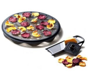Fatiador de Alimentos - Chips Crocantes para Microondas - Top Chips