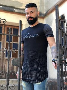 Camiseta Long - Fusion Black