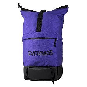 Mochila Térmica Fitness Big Bag Roxo Everbags