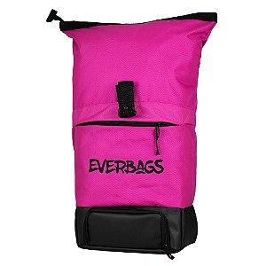 Mochila Térmica Fitness Big Bag Pink Everbags